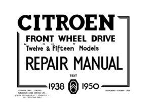 citroen-l15-repair-manual-text-cover-page
