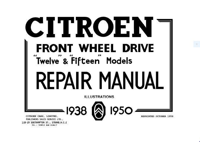 l15-citroen-repair-manual-illustrations-cover-page